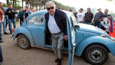 El coche del presidente Mujica