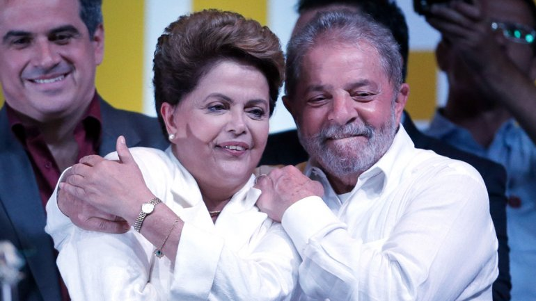 Dilma Rousseff se reunió con Lula da Silva en Brasilia