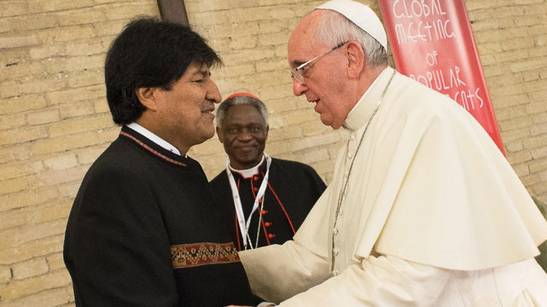 Francisco visitará Bolivia