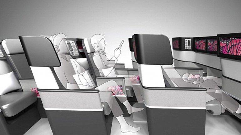 Estos asientos revolucionar n los viajes en avi n for Asientos para oficina