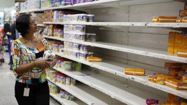 Venezuela sufre un profundo desabastecimiento de productos básicos