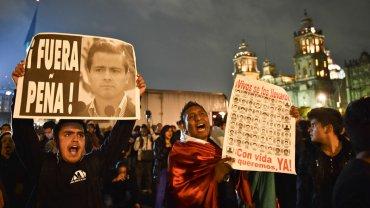 La desaparición de los estudiantes en México reavivó la preocupación por la violencia en el país