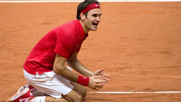 La máxima emoción de Federer