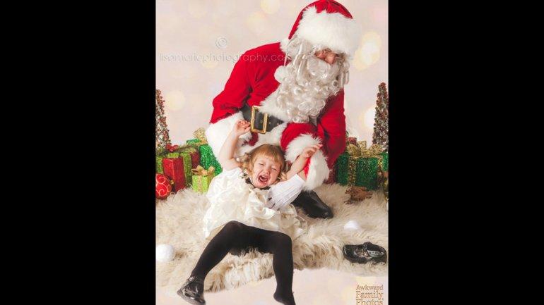 Un Papá Noel que no quería mucho a los niños