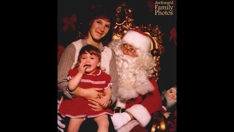 Esta vez fue Papá Noel el que recibió un regalo