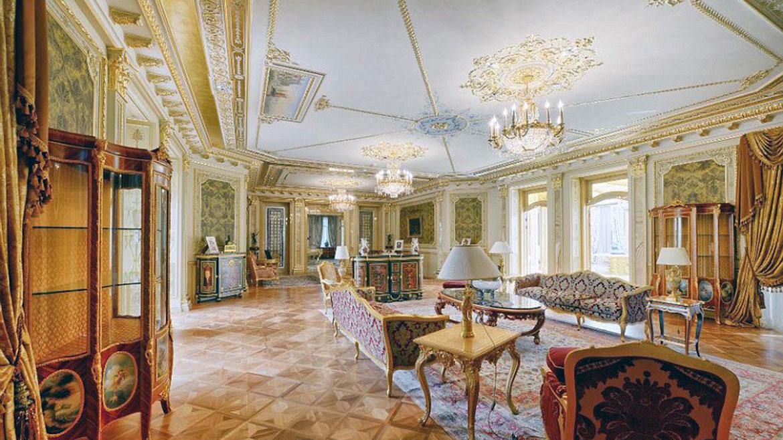 Imagenes fastuosas y barrocas mansiones de la oligarqu a for Sala de estar de una mansion