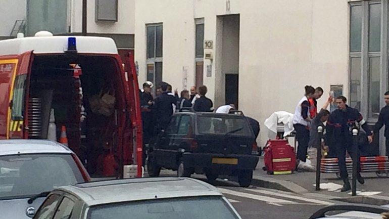 Los servicios de emergencia de París se movilizaron para socorrer a las víctimas