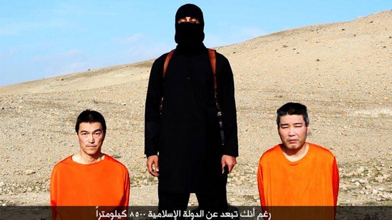 ISIS amenaza con matar a rehén japonés y piloto jordano