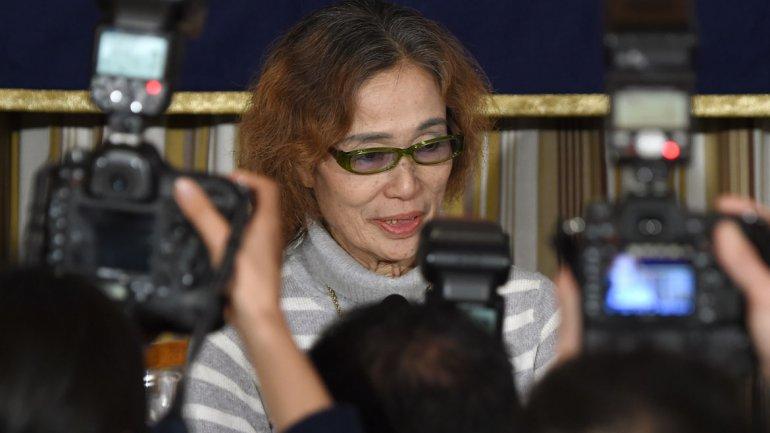Madre de rehén japonés de ISIS pidió por la vida de su hijo