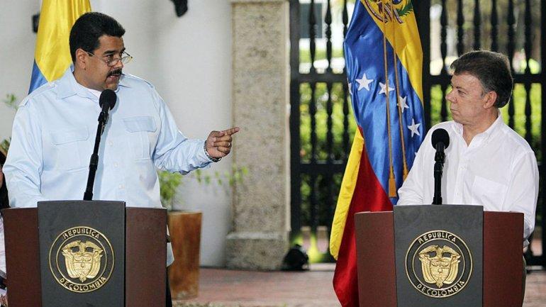 Nuevo enfrentamiento entre Venezuela y Colombia