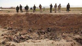 Fosa común en Irak, descubierta el pasado 7 de febrero