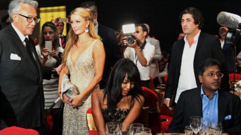 Paris Hilton y Naomi Campbell con Fidel Castro Díaz-Balart 0012268496