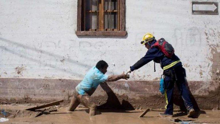 Chile: Fuertes lluvias, desaparecidos y muertos