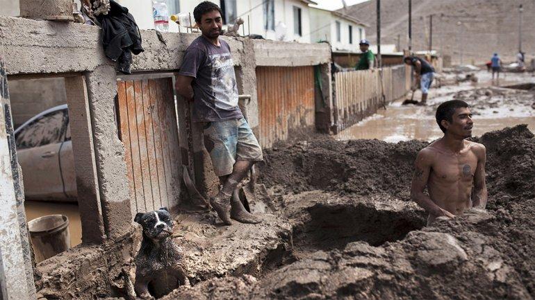 Los desaparecidos por las lluvias en Chile ya superan el centenar