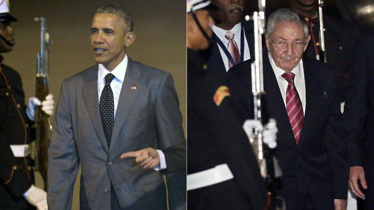 Obama y Castro hablaron por teléfono antes de su encuentro en la Cumbre de las Américas