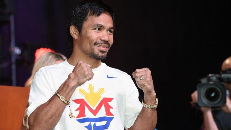 Manny Paquiao peleará el 9 de abril ante Timothy Bradley en Las Vegas