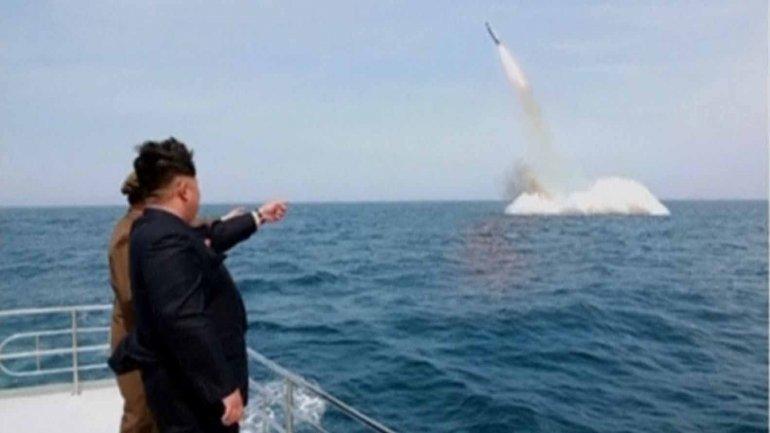 Kim Jong-un estaría preparando el lanzamiento de un misil de largo alcance para la próxima semana