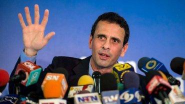Henrique Capriles, ex candidato presidencial venezolano