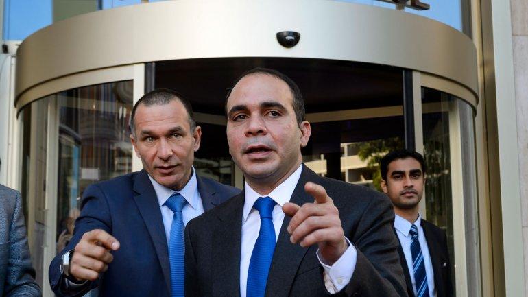 El príncipe jordanoAli Bin al Hussein ha perdido apoyo con respecto a las últimas elecciones