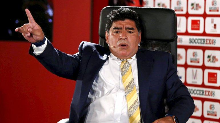 Diego Armando Maradona pidió cadena perpetua para todos los involucrados en el escándalo en la FIFA