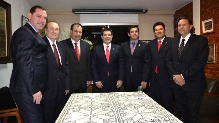 gobiernos paraguay: