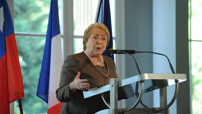 Michelle Bachelet busca la despenalización del aborto
