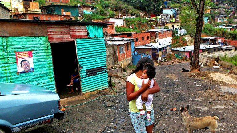 Venezuela rompe record histórico de pobreza: el 76% lo es