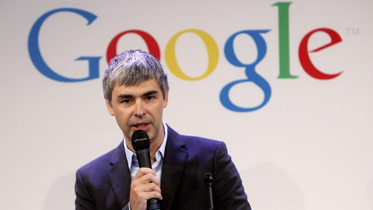 Larry Page, cofundador de Google