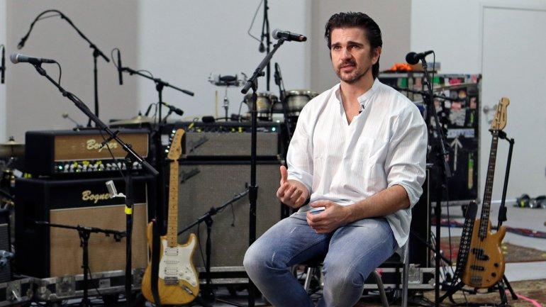 Juanes cantará ante el Papa
