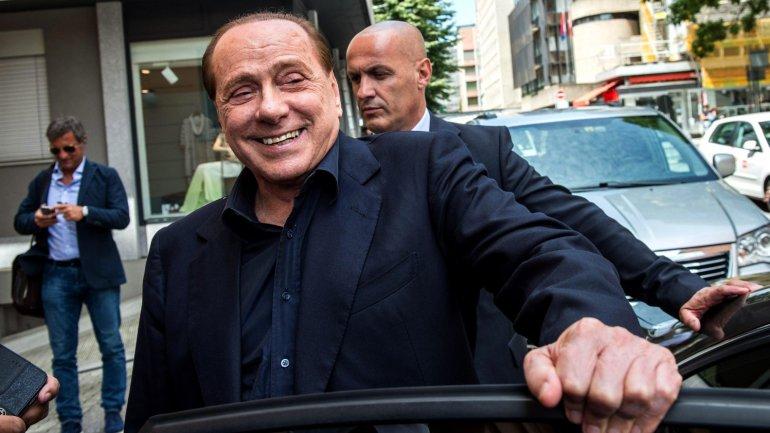 Silvio Berlusconi, ex premier de Italia