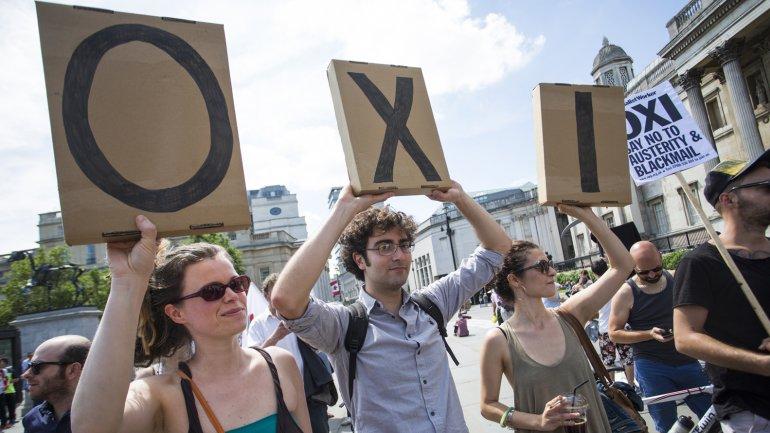 Grecia: primeros resultados oficiales indican que ganó el No con el 60% de los votos