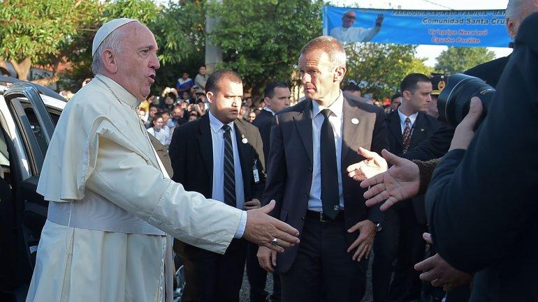 """Papa Francisco """"¡No dejen que el diablo los divida!"""""""