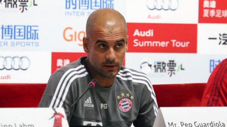 Josep Guardiola asumiò en el Bayern Munich en 2013, luego de que el club consiguiese la Champions League