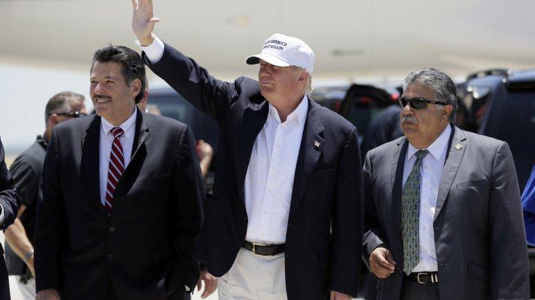 Trump sumó insultos y más polémica en la frontera: Hay un gran peligro con los ilegales