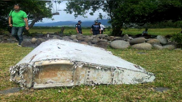 Hay alto grado de confianza en que los restos sean de un avión similar al del vuelo MH370