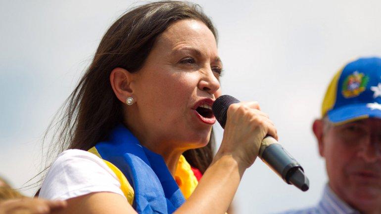 Vente Venezuela (VV), partido liderado por María Corina Machado, propuso la renuncia de Nicolás Maduro como mejor opción para cambiar al Ejecutivo