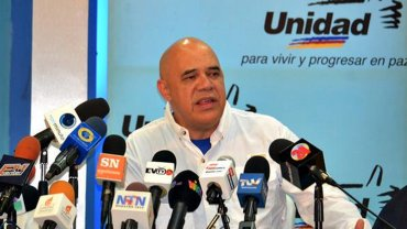 Jesús Torrealba, vocero de la MUD