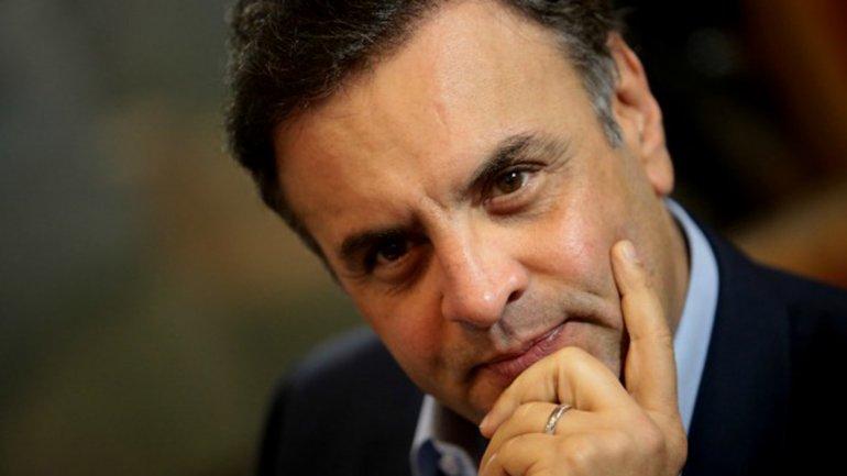 Aécio Neves perdió las presidenciales ante Dilma Rousseff