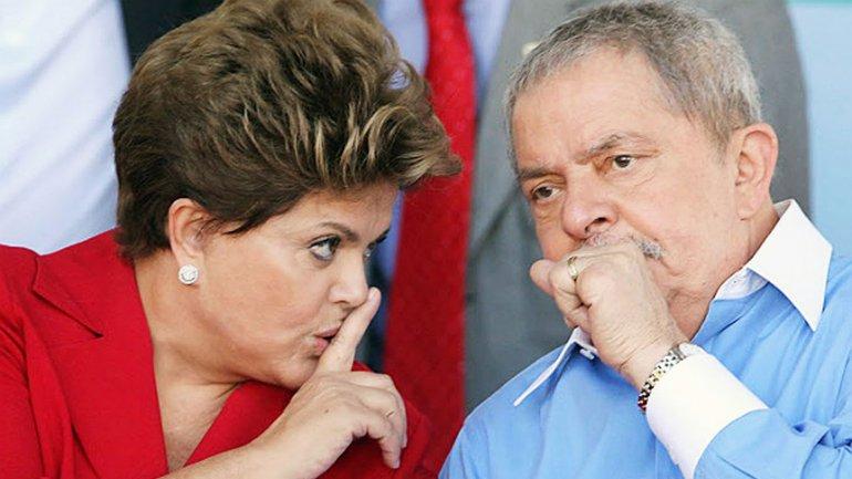 La presidente Dilma Rousseff y su mentor y antecesor, Lula da Silva