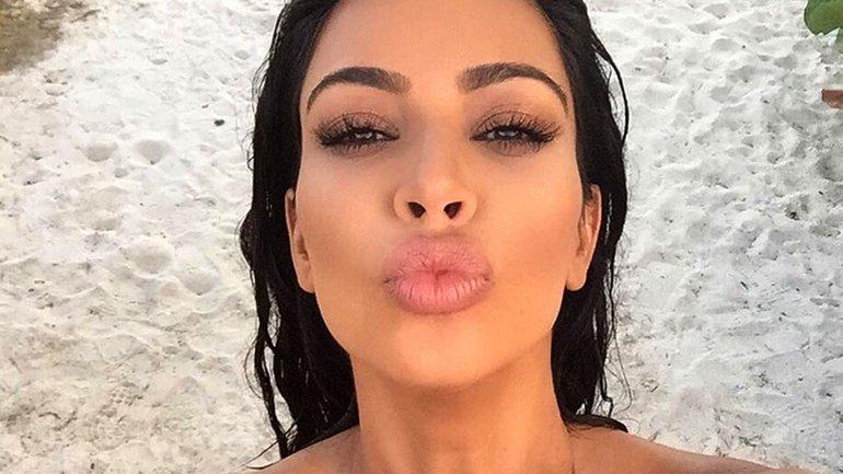 Kim Kardashian conoció a su doble y compartió la foto en Instagram