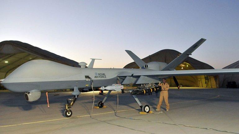 El drone Reaper de la Royal Air Force (RAF) que ultimó a dos yihadistas británicos.