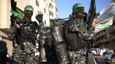 Brigada del grupo terrorista Hamas