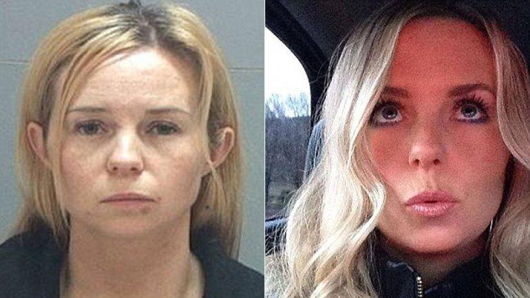 Amber Telford, de Taylorsville, Utah, deberá pasar 30 días tras las rejas por tener sexo con un menor de edad que además era alumno suyo.