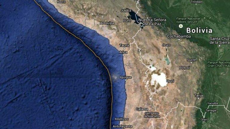 Alerta por TSUNAMI en RIO GRANDE, TIERRA DEL FUEGO