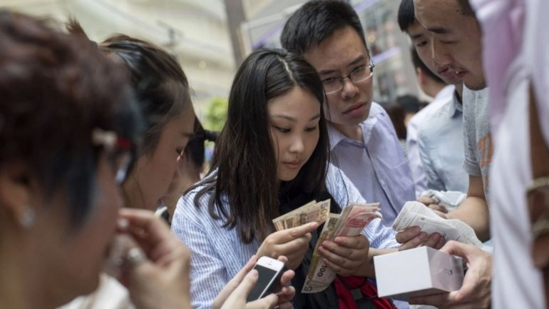 Hay desesperación en China para obtener el nuevo producto de Apple