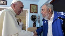 El papa Francisco mantuvo un encuentro privado con Fidel Castro