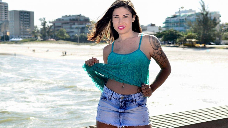 Rita Mattos, de barrendera a conejita de Playboy(Fapto)