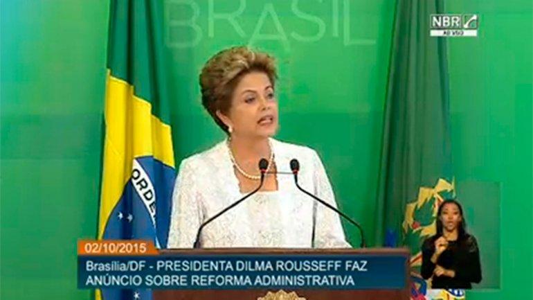 Dilma Rousseff pretende reacomodar las fuerzas que la apoyan