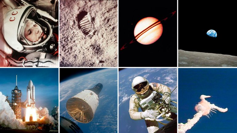 Las 27 fotos más icónicas de la conquista del espacio