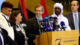 El enviado de la ONU,Bernardino León, anunció el gobierno de unidad en Libia